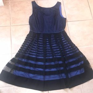 Black and Blue formal dress by Muse. Size 10.